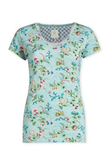 Top short sleeve La Majorelle Blue