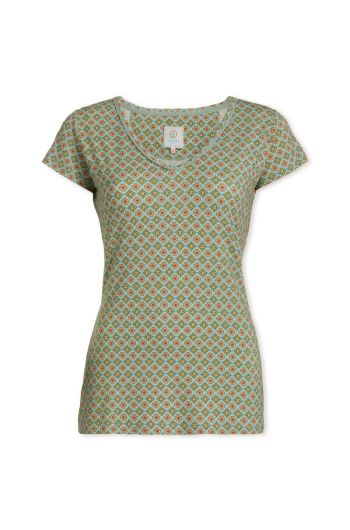 Top short sleeve Habibi Green