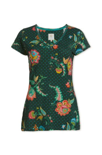 Top short sleeve Jambo Jasmin Green