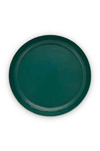 tray-enamelled-dark-green-50-cm-1/4-pip-studio-51.075.021