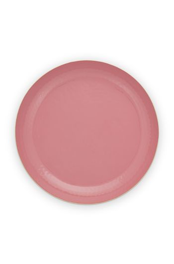 tray-enamelled-old-pink-40-cm-1/4-pip-studio-51.075.020