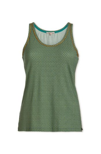 Top sleeveless Twinkle Star Green