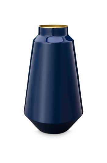 vase-metal-blue-36-cm-1/4-pip-studio-51.102.023
