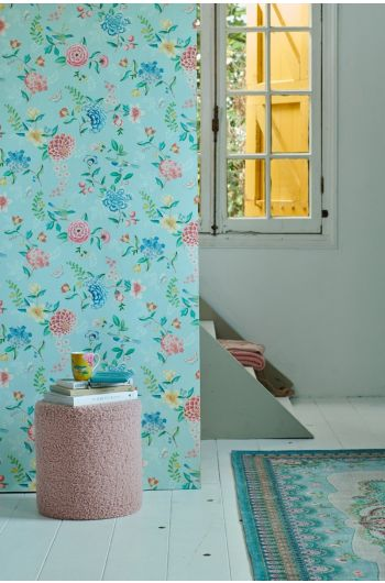 wallpaper-non-woven-vinyl-flowers-light-blue-pip-studio-good-evening