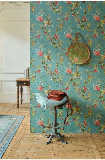 behang-vliesbehang-bloemen-petrol-pip-studio-floris