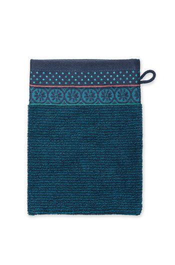Washandje-soft-zellige-donkerblauw205580