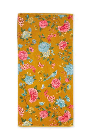 xl-towel-good-evening-gelb-blumen-70x140-pip-studio-217795