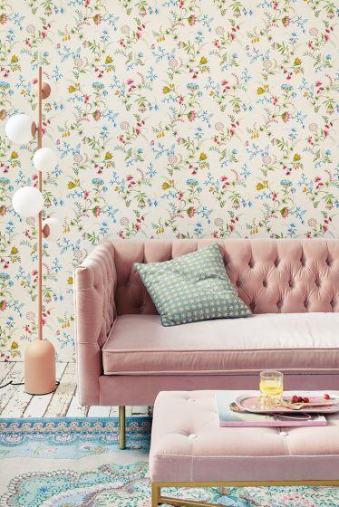 behang-vlies-behang-glad-bloemen-print-wit-pip-studio-la-majorelle