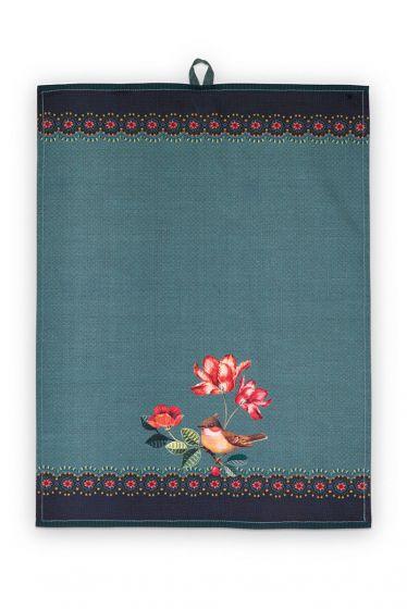 Tisch-tuch-grün-winter-wonderland-pip-studio-50x70-cm