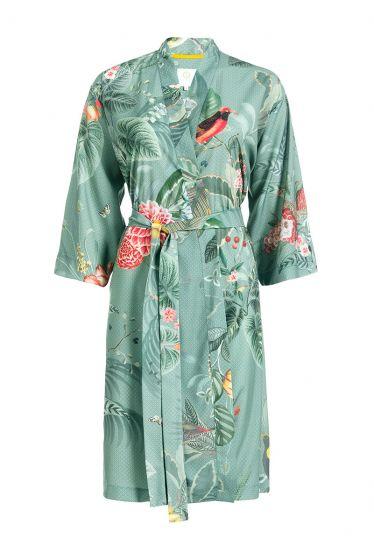 Kimono Floris Grande Groen