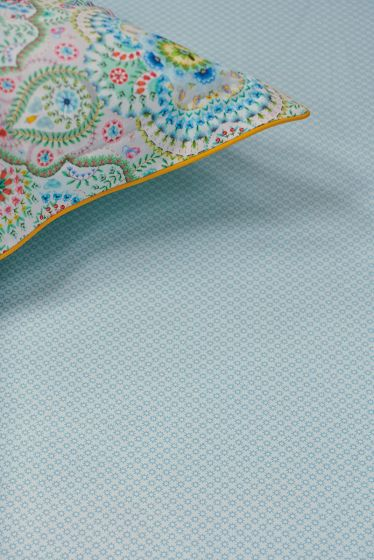 Fitted Sheet Twinkle Star Light Blue