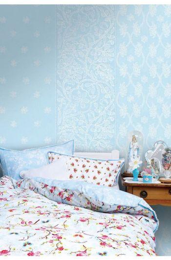 Sari wallpower blue