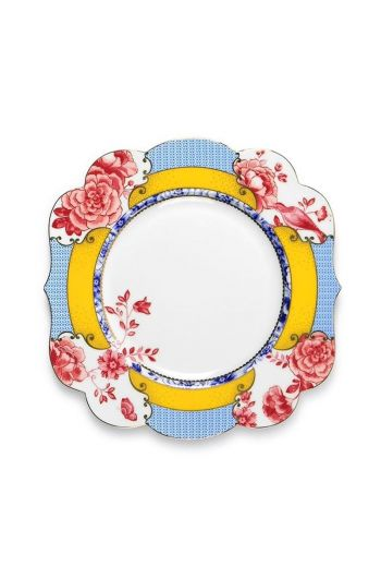 Royal breakfast plate 23,5 cm multicoloured