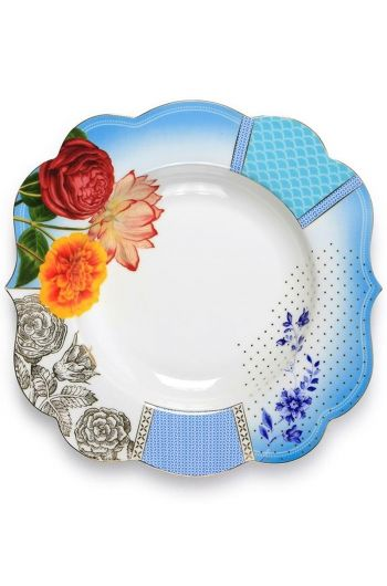 ROYAL PASTA PLATE MULTICOLOURED