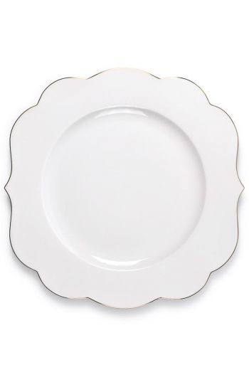 Royal White dinner plate 28 cm