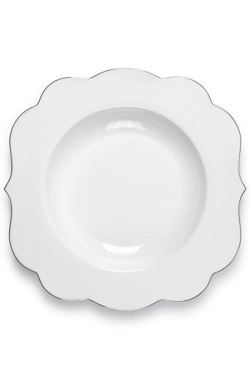 Royal White pasta plate 28 cm