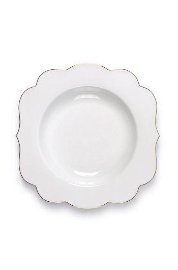 Royal White soepbord 23,5 cm