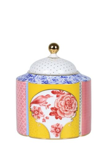 S Royal storage canister multicoloured
