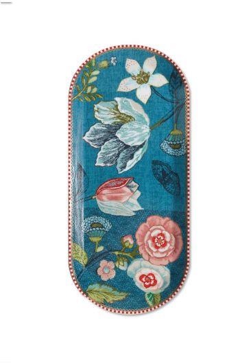 Spring to Life Cake Tray 34 cm Blue