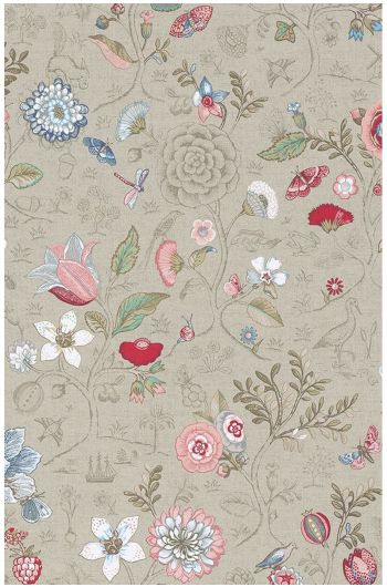 Spring to Life wallpaper khaki