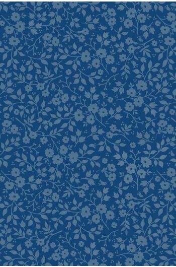 Lovely Branches wallpaper dark blue