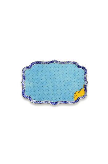 Royal serving dish 26 cm blue