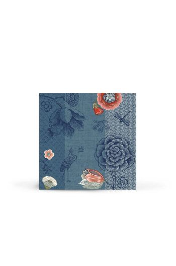 Spring to Life Paper Napkins Blue