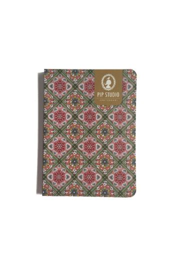Notebook Small Tiles Pink