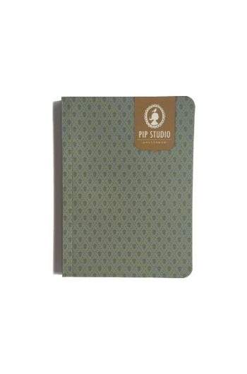 Notebook Small Acorn Green