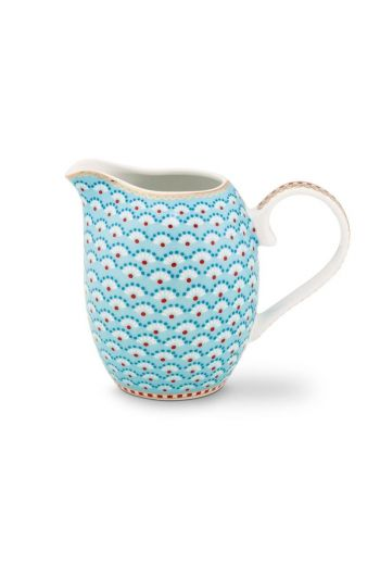 Floral Jug Small Bloomingtails Blue