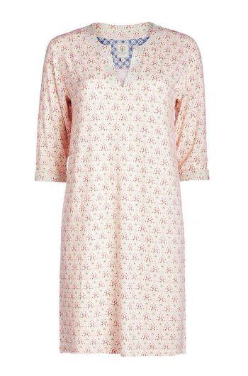 Nightdress 3/4 sleeve Mumbai Heart pink
