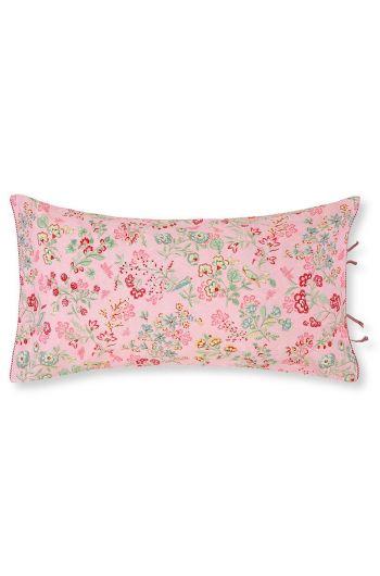 Zierkissen rechteckig Jaipur Flower rosa