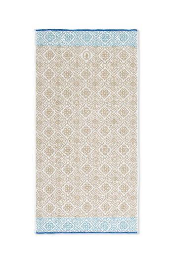 XL Bath towel Jacquard Check Khaki 70x140 cm