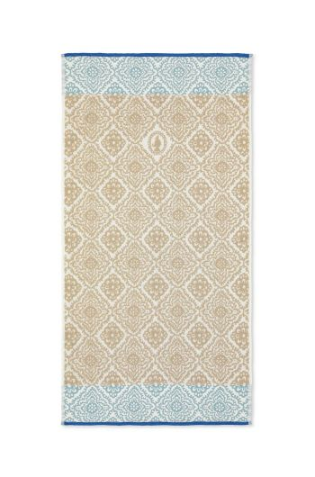 Bath towel Jacquard Check Khaki