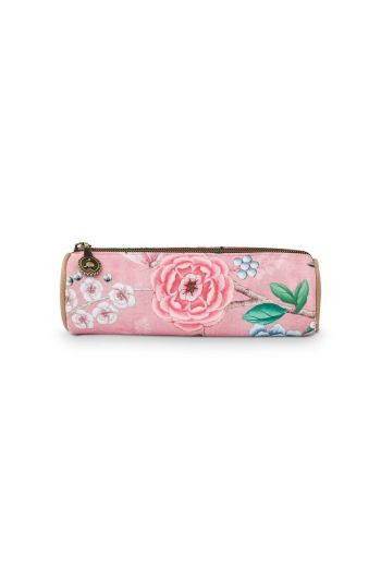 Make-up Pouch Small Floral Good Morning Pink
