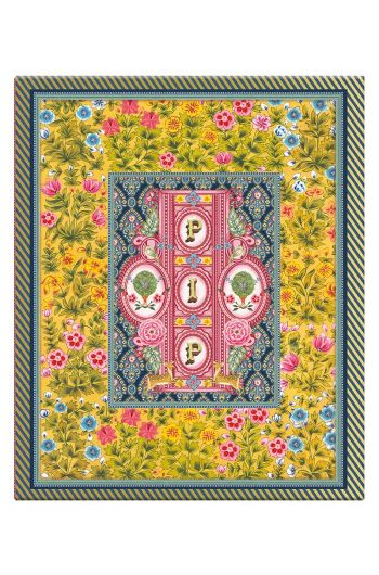 Ringbinder A4 Indian Festival 4 Rings yellow