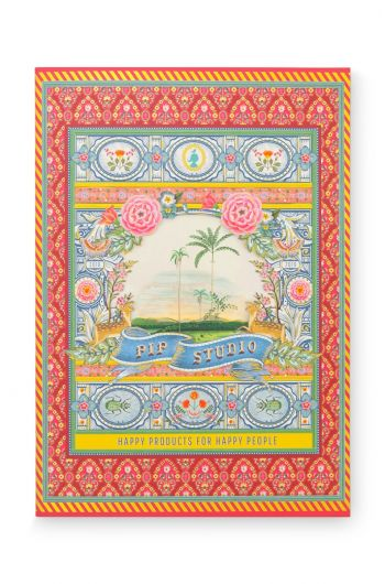 Exercise book A4 sq - Indian Festival - 40 sheets red