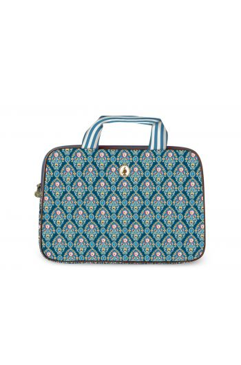 Laptoptas Indian Festival blauw (15 inch)