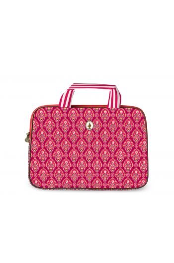 Laptoptas Indian Festival rood (15 inch)