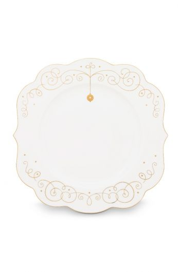 Royal Christmas diner bord - 28 cm