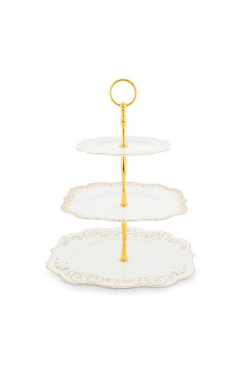 Royal Christmas cake stand