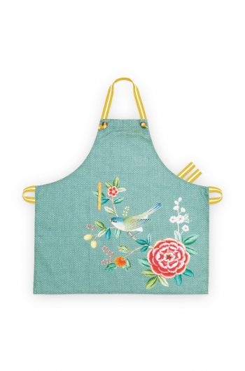 Blushing Birds Kitchen Apron