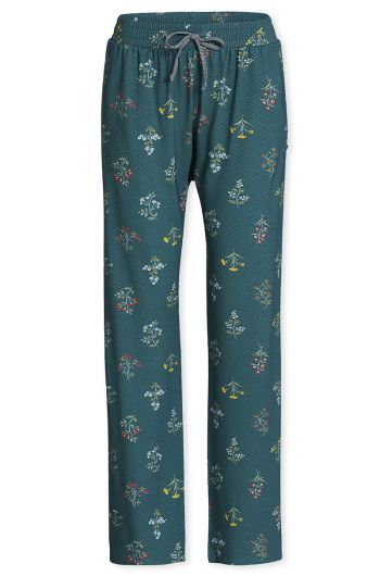 Long Trousers Winter Wonderland Forest green