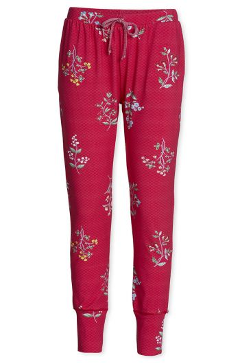 Trousers Long Winter Wonderland XL Cerise