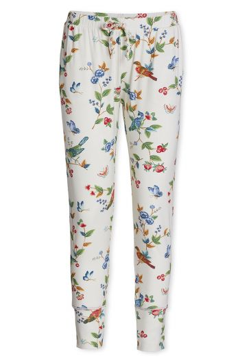 Trousers Long Birdy Off white