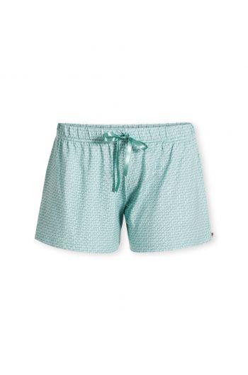 Trousers Short Stitch Blue