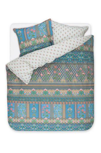 Bettbezug Darjeeling Dunkelblau