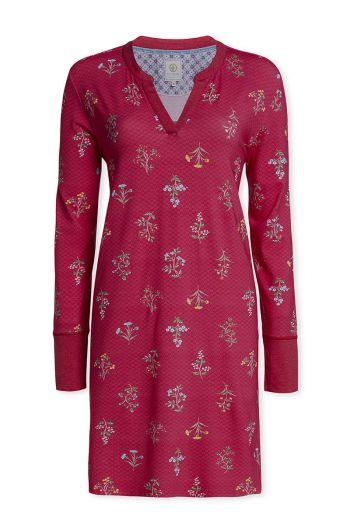 Long sleeve nightdress Winter Wonderland Cerise