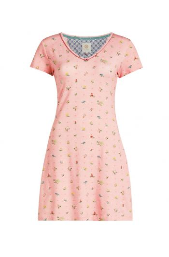 Nightdress short sleeve Moss Pink