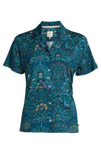 Top short sleeve polo Sunrise Blue